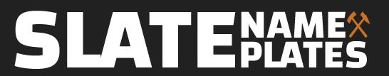 Slate Name Plates Logo